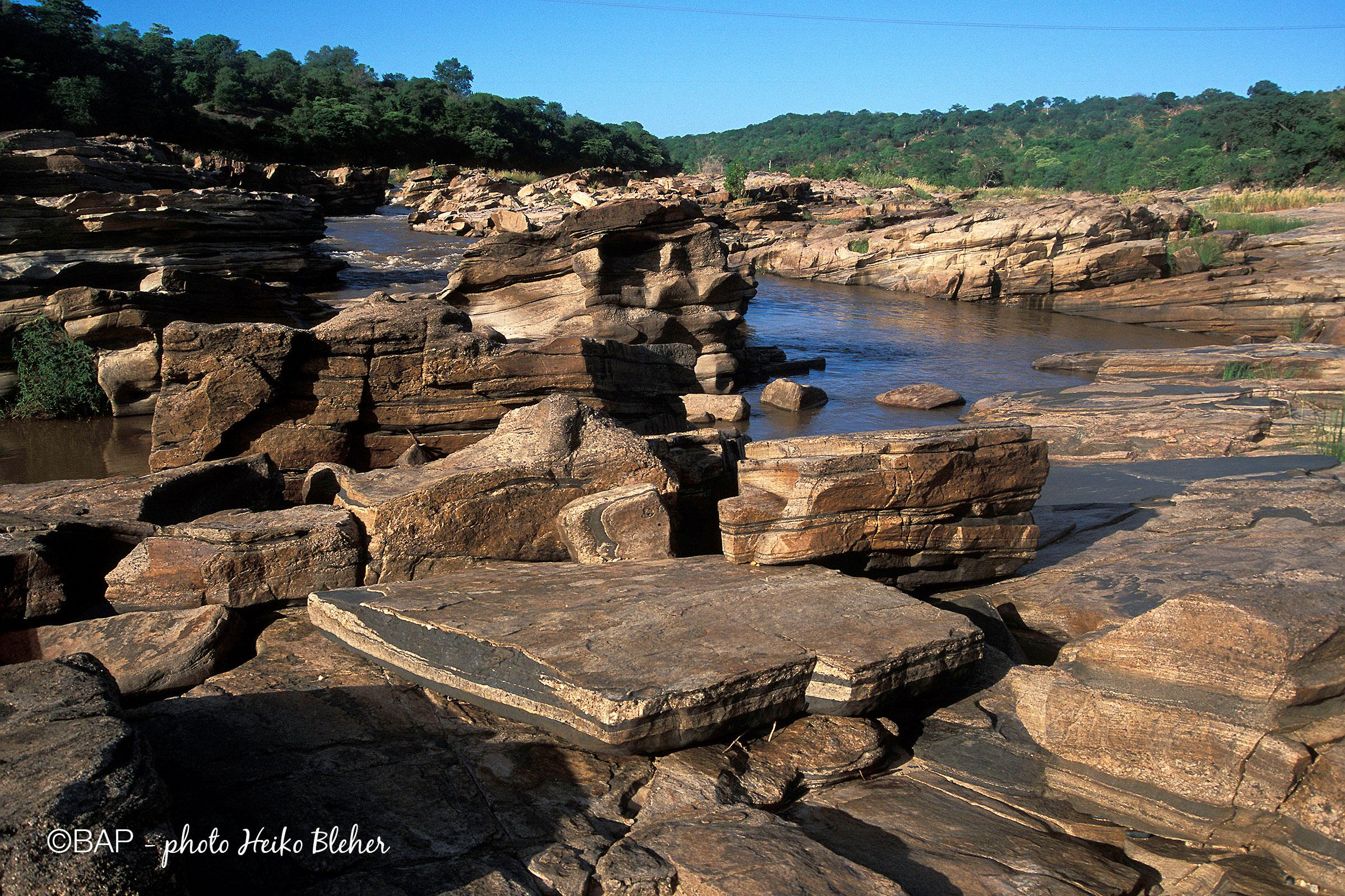 BIN, Nyamwale stream, Mozambique. ©BAP, photo H. Bleher