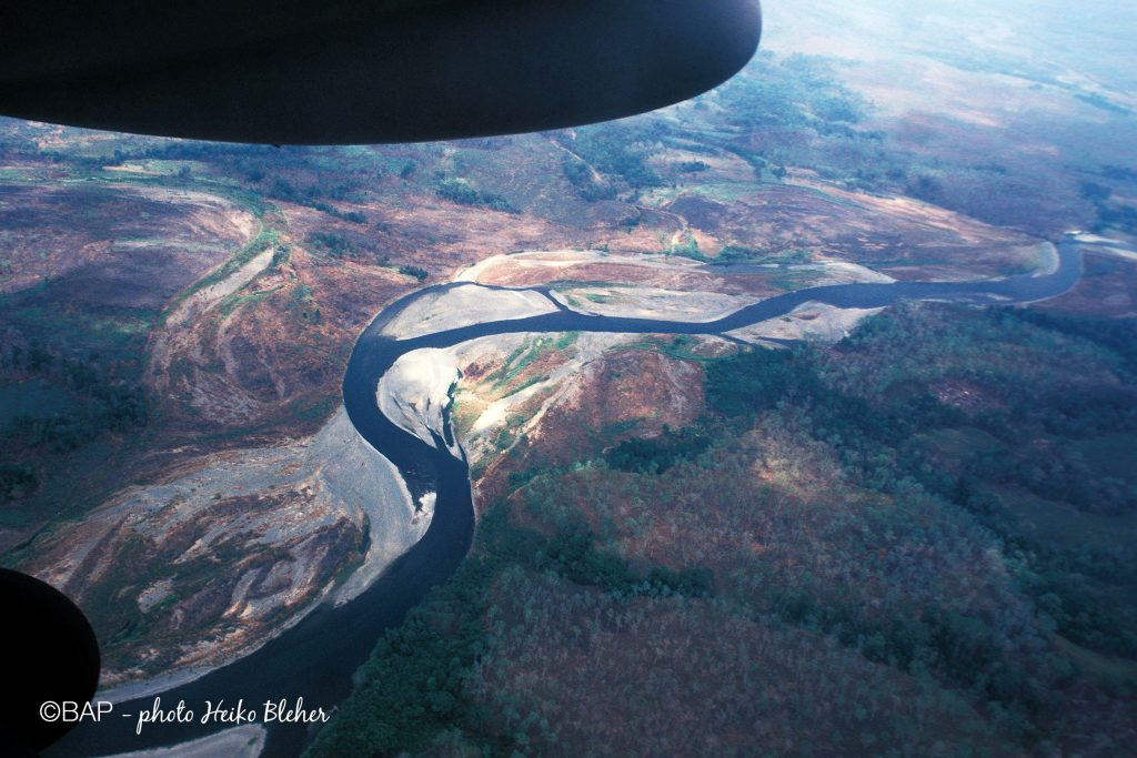Popondetta River, Safia Valley, PNG. ©BAP, photo H. Bleher