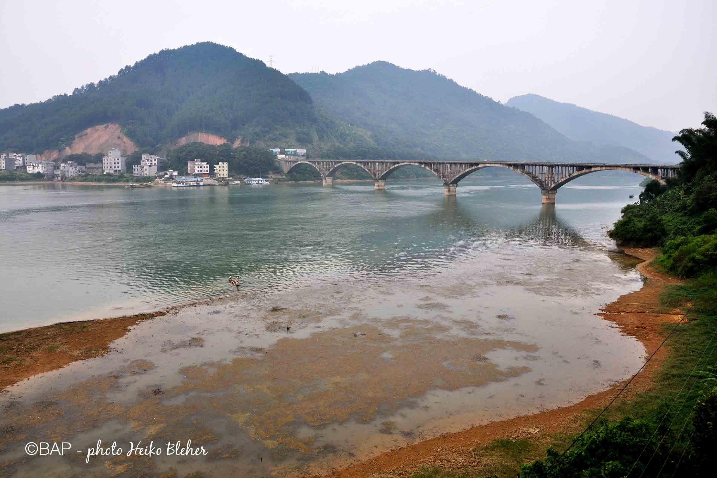 Hongshui River, Guangxi, China. @BAP, photo by Heiko Bleher