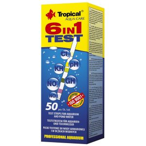 Tropical complete water test 6 in 1