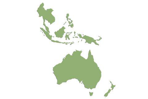 BAC: Southeastern Asia, Oceania.