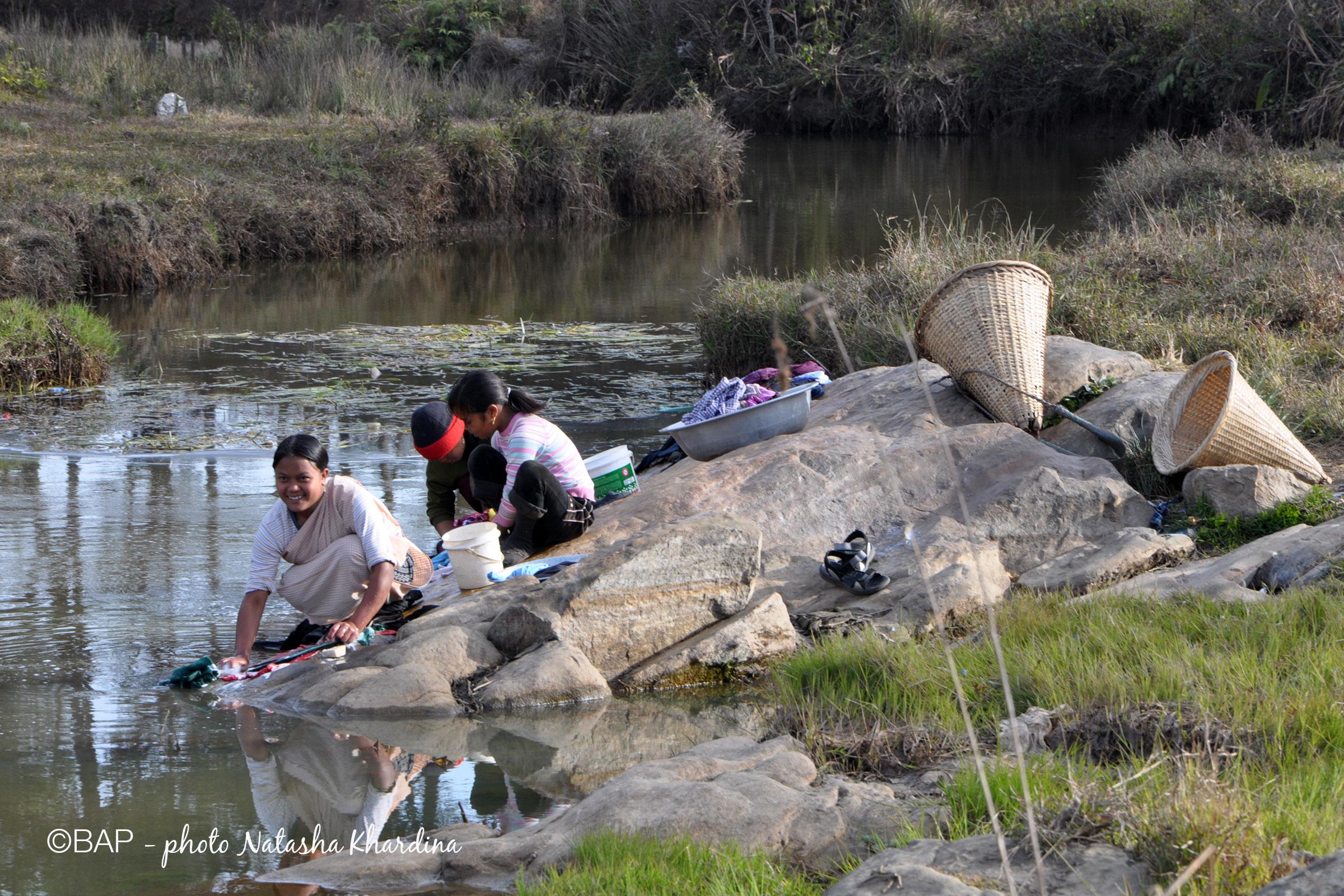 Wah Symploh Creek, Jaintia Hills, Meghalaya. ©BAP, photo N. Khardina