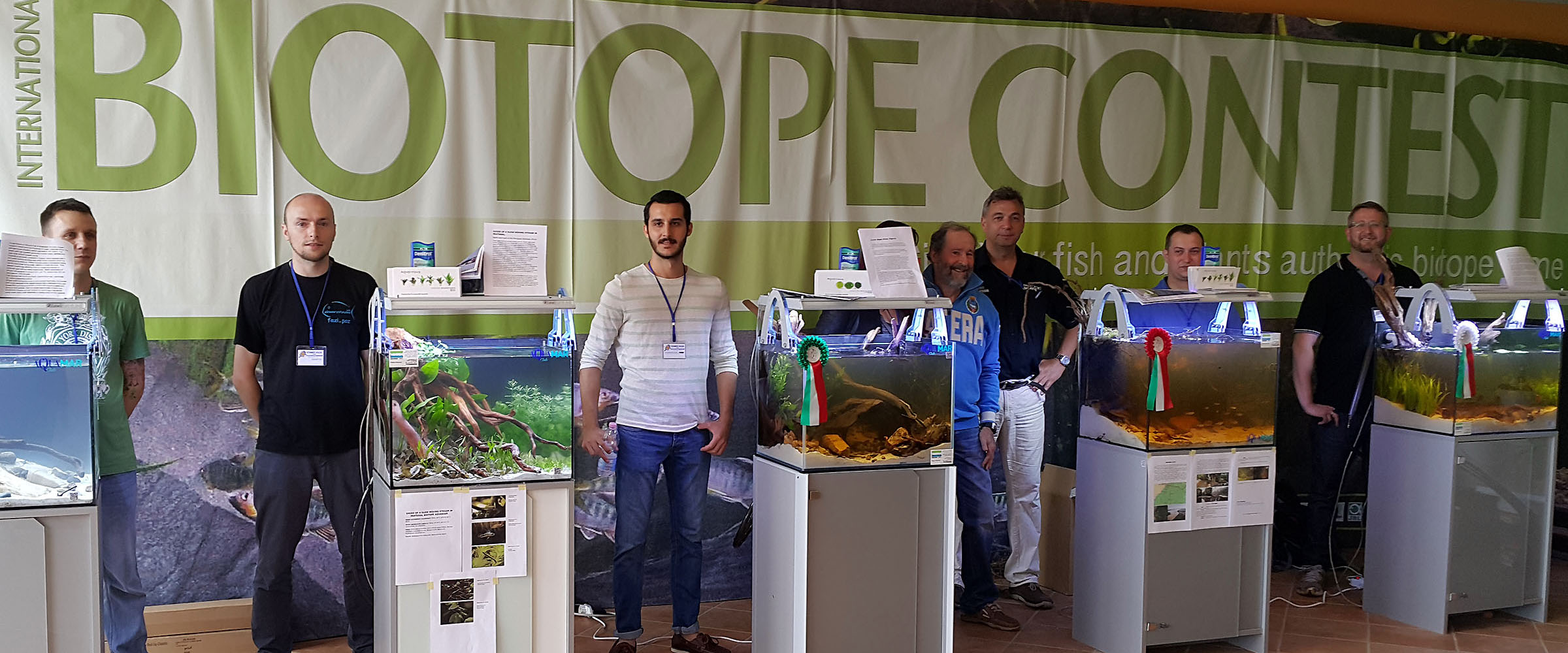 Biotope Aquarium Contest 2015, Italy. ©BAP, photo N. Khardina