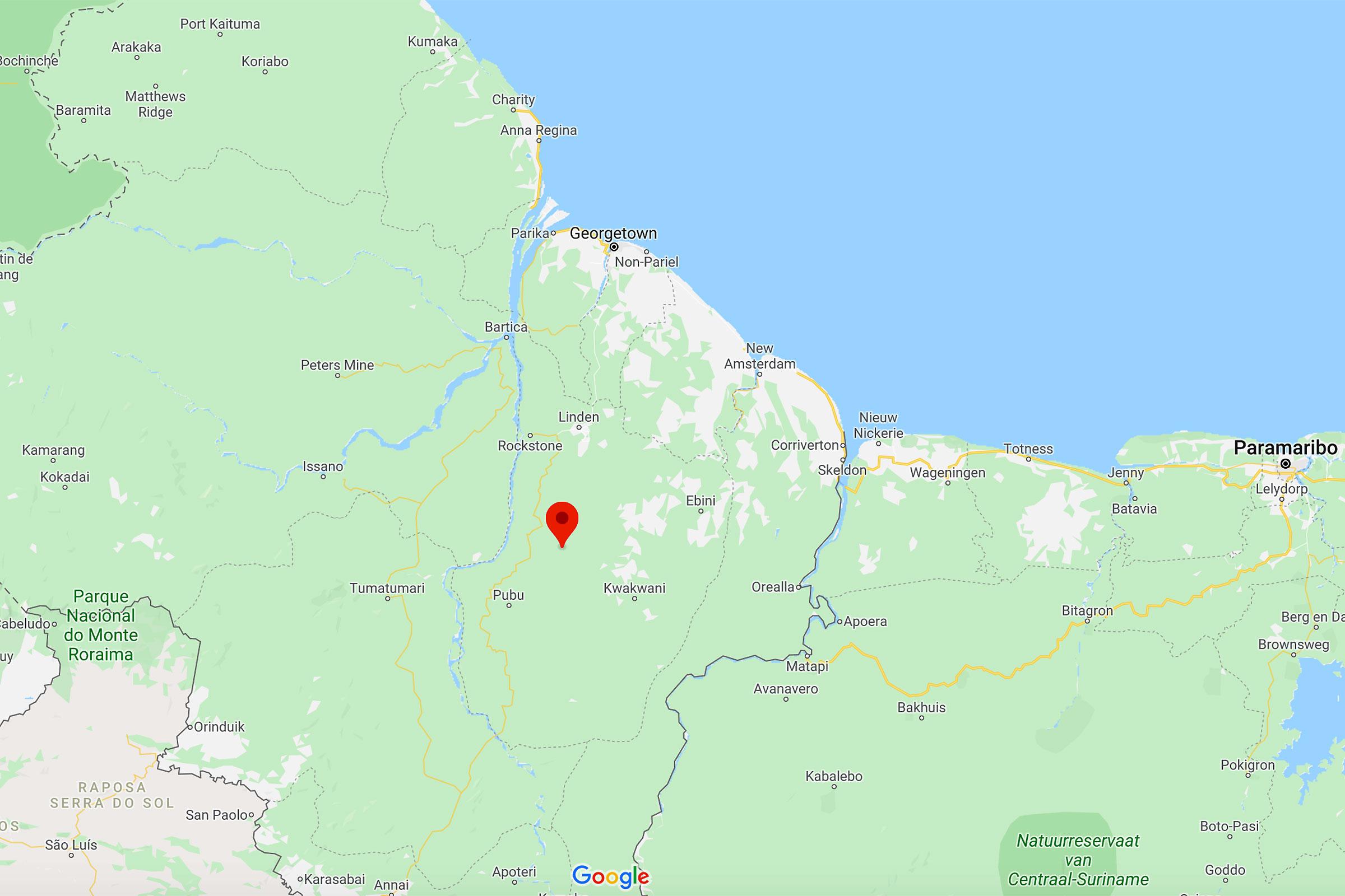 Alto Río Demerara, Guyana.