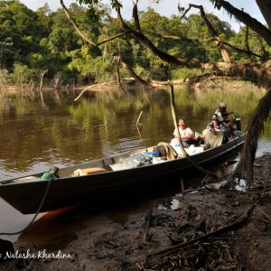 Rio Taraira, Colombia. ©BAP, photo N. Khardina