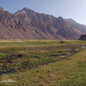 Wamt lake area, Panji River, Pamirs, Tajikistan. ©BAP, photo H. Bleher