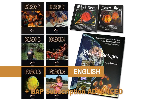 Special offer: DiscusBook 01-06, Bleher's Biotopes and Bleher's Discus 1-2