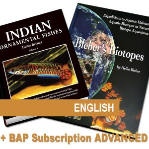 Special offer: Indian Ornamental Fishes and Bleher's Biotopes