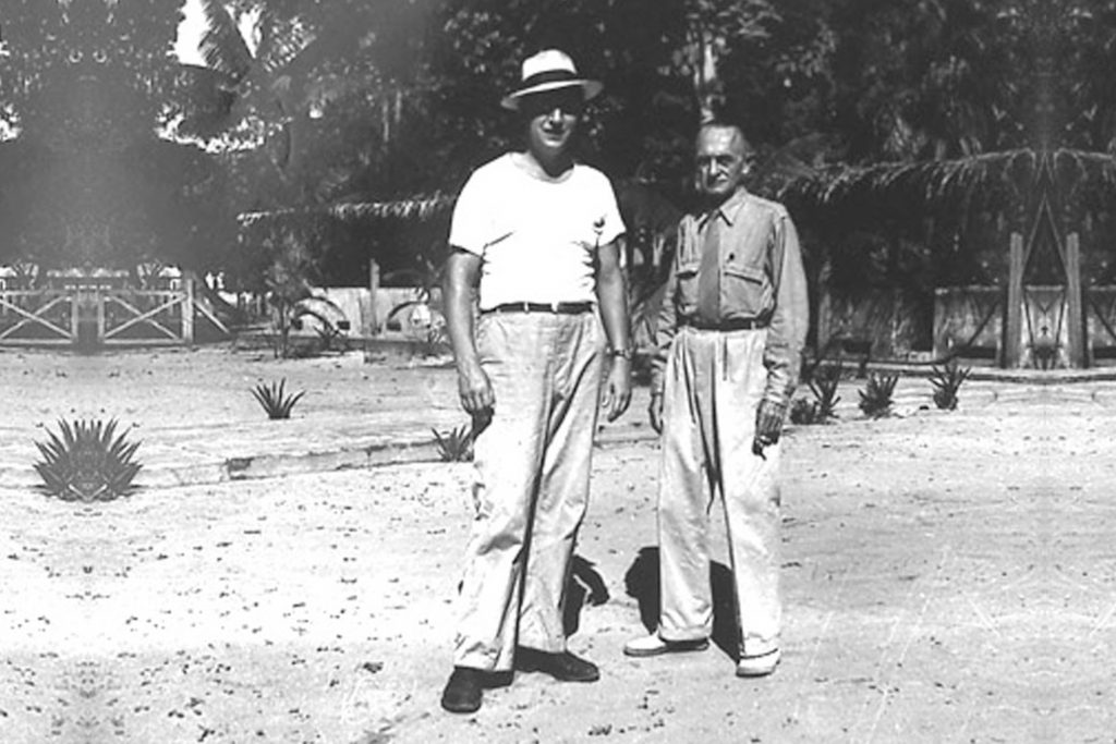 Fred Cochu and August Rabaut, 1937