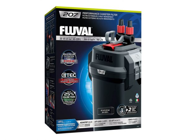 Fluval 207 Performance Canister Filter, up to 220 L