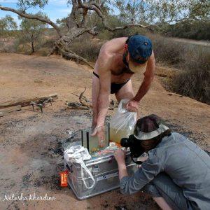 Algebuckina waterhole, Australian Outback. Photo by N. Khardina