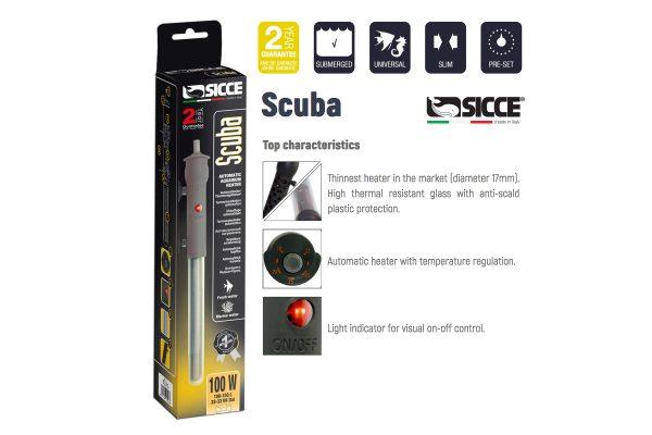 SICCE Scuba Heater 100