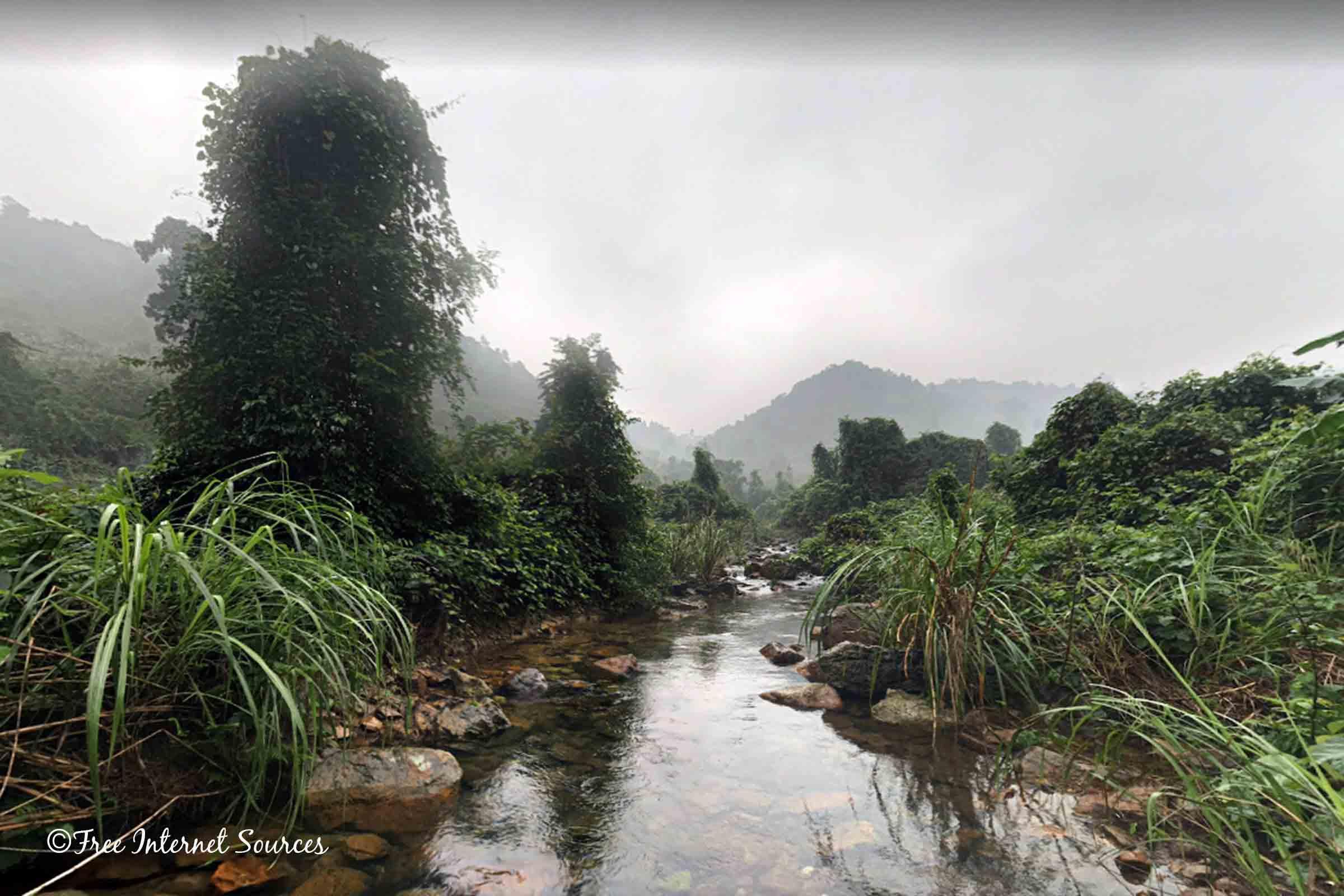Son River Stream, Phong Nha-Ke Bang National Park, Vietnam. Photo by Magdalena Szubska